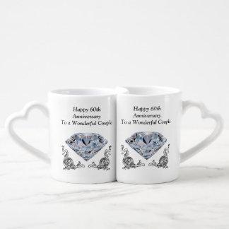Regalos únicos baratos del aniversario de boda de set de tazas de café