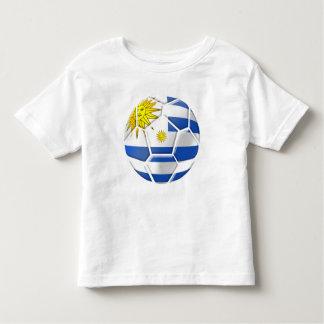 Regalos uruguayos de los aficionados al fútbol de camiseta de bebé