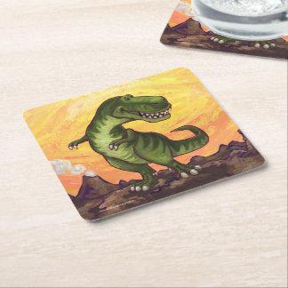 Regalos y accesorios del Tyrannosaurus Posavasos De Papel Cuadrado