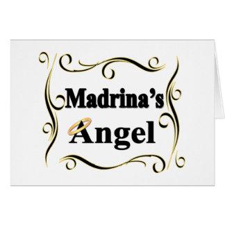 Regalos y ropa del ángel de Madrina Tarjeton