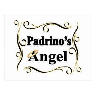 Regalos y ropa del ángel de Padrino Tarjetas Postales
