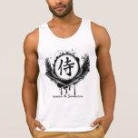 Regata 100% algodão - Honra de Samurai Camiseta De Tirantes