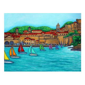 Regatta de Dubrovnik de Lisa Lorenz Postal