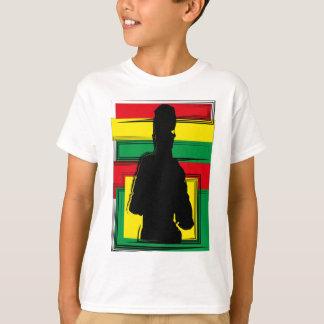 Reggae bobo arte camisetas