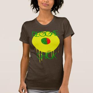 REGGAE, camiseta del personalizado del POLLUELO