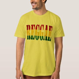 reggae con la bandera camisetas