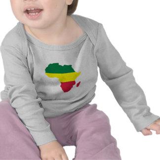 Reggae de África Camisetas