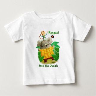 Reggae de la selva camiseta para bebé