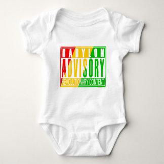 Reggae de RASTA Body Para Bebé