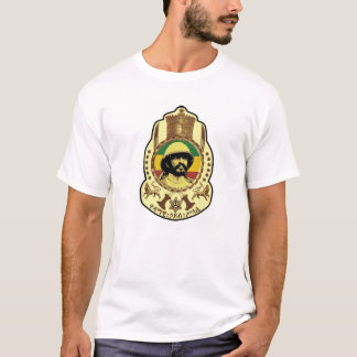 Reggae Etiopía Jamaica de Haile Selassie Rasta Camiseta