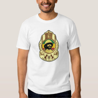 Reggae Etiopía Jamaica de Haile Selassie Rasta Camisetas