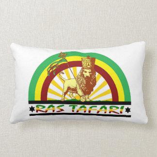 Reggae Etiopía Jamaica de Haile Selassie Rasta Cojín