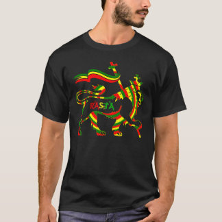 Reggae Lyon de Cori Reith Rasta Camiseta