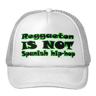 Reggaeton NO ES hip-hop español Gorros
