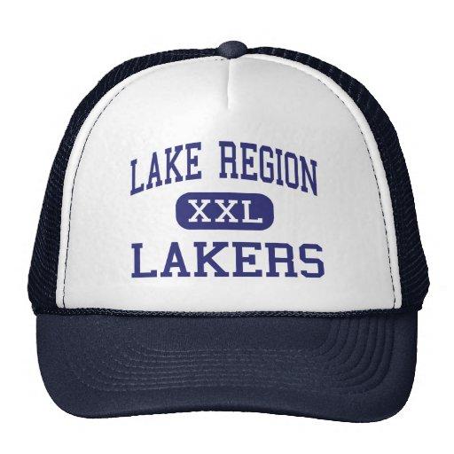 Región del lago - Lakers - alta - Bridgton Maine Gorra