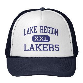 Región del lago - Lakers - High School secundaria  Gorros Bordados