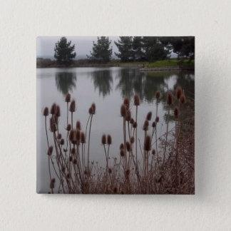 Chapa Cuadrada Regiones pantanosas del Pin de Arcata/del botón