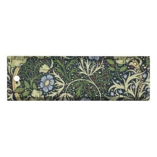 Regla Arte floral del vintage del modelo de la alga