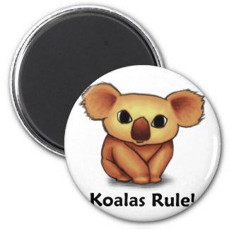 ¡Regla de las koalas Imán De Frigorífico