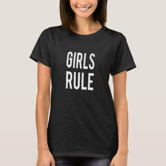 Regla de los chicas camiseta
