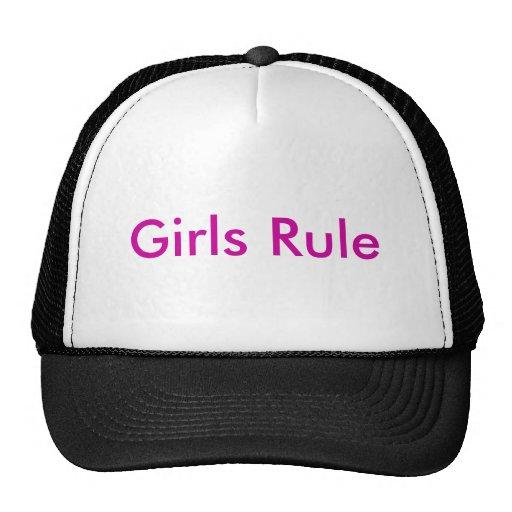 Regla de los chicas gorro