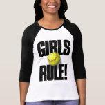 ¡REGLA DE LOS CHICAS! Softball Camiseta