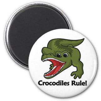 ¡Regla de los cocodrilos! Imán