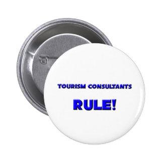 ¡Regla de los consultores del turismo Pin