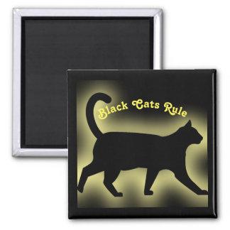 Regla de los gatos negros imán