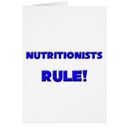 ¡Regla de los nutricionistas! Felicitaciones