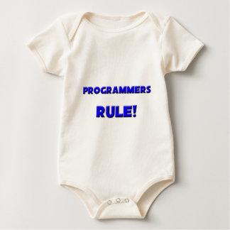 ¡Regla de los programadores! Body Para Bebé
