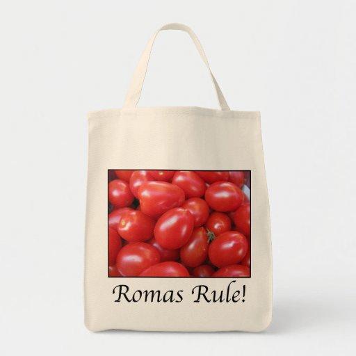 REGLA DE ROMAS BOLSAS DE MANO