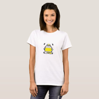 Reglas de la abeja reina camiseta