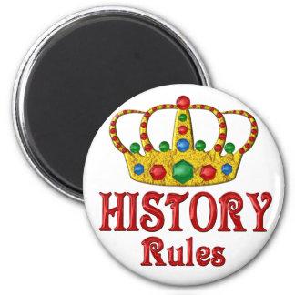 Reglas de la HISTORIA Iman Para Frigorífico