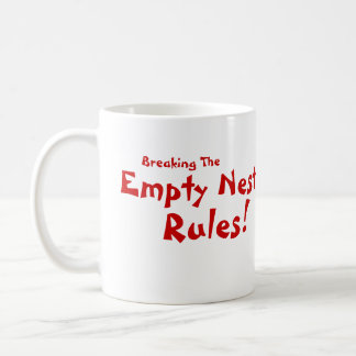 ¡Reglas vacías de la jerarquía! Taza De Café