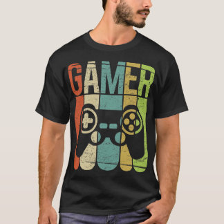 Regulador del juego del videojugador camiseta