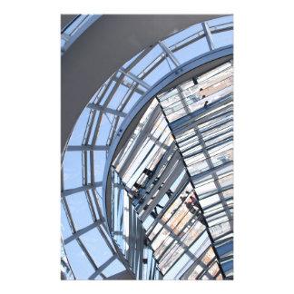 Reichstag reflejó la bóveda - Berlín Flyer Personalizado