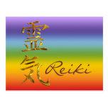 REIKI/ORO, Reiki Tarjeta Postal