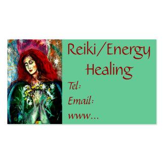 Reiki/tarjeta de visita curativa de la energía tarjetas de visita