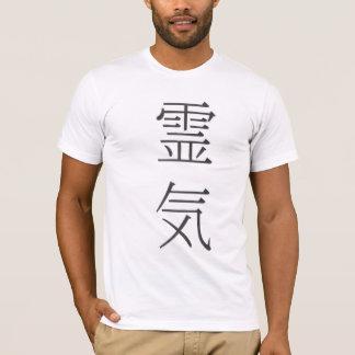Reiki y camisa del idioma