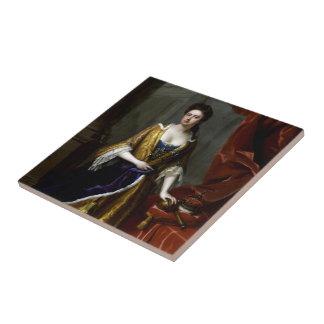 Reina Anne de Gran Bretaña y de Irlanda Azulejo De Cerámica