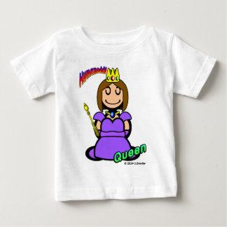 Reina (con los logotipos) camiseta de bebé