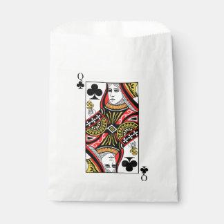 Reina de clubs bolsa de papel