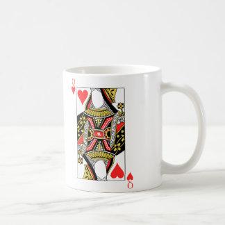 Reina de corazones - añada su imagen taza de café