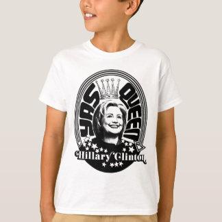 Reina de Hillary Clinton Yas Camiseta