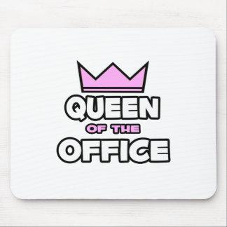 Reina de la oficina alfombrilla de ratones