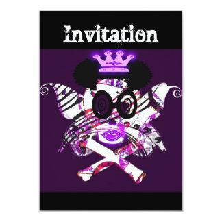 """""""Reina de los fantasmas """" tarjeta de la invitación"""