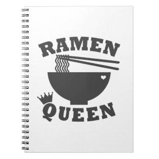 Reina de los Ramen Cuaderno