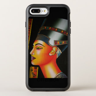 Reina de Nefertiti Egipto Funda OtterBox Symmetry Para iPhone 8 Plus/7 Plus