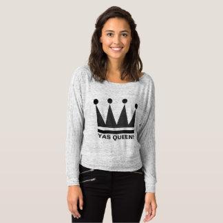 ¡Reina de Yas!  Diseño de la corona de la camiseta